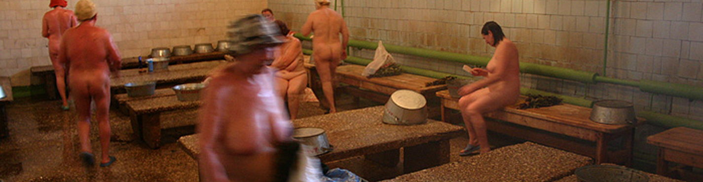 Russian communal sauna tradition
