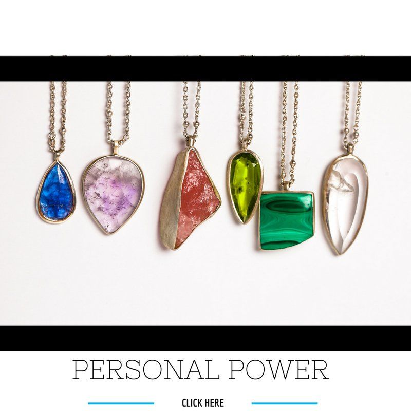 Personal Power Necklaces