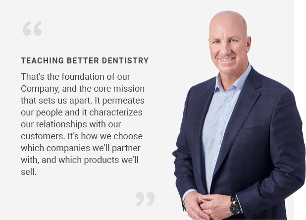 Peter Jordan, President, Clinical Research Dental and Clinician's Choice Dental Products Inc.