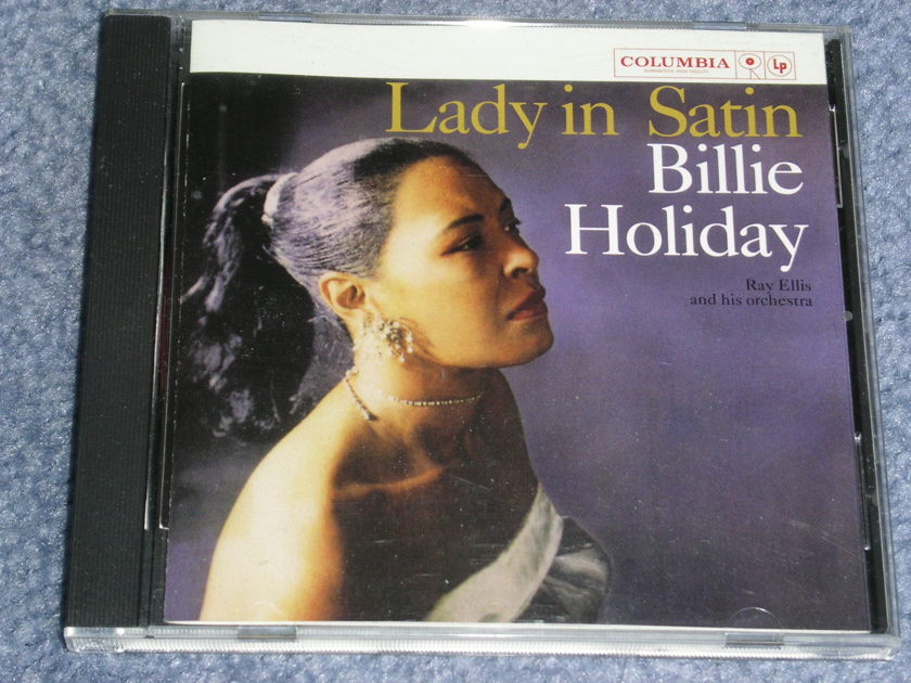 Billie Holiday - LADY IN SATIN  -- SACD - stereo & multichannel