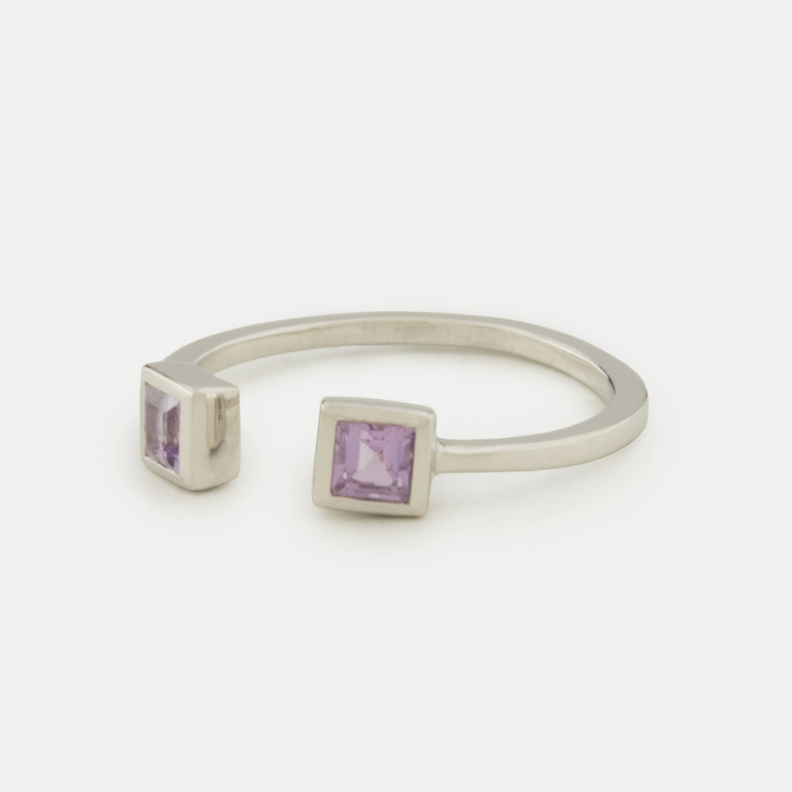 Stackable Ring Amethyst