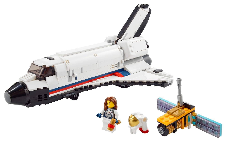 13. Space Shuttle creator 3 in 1 set.