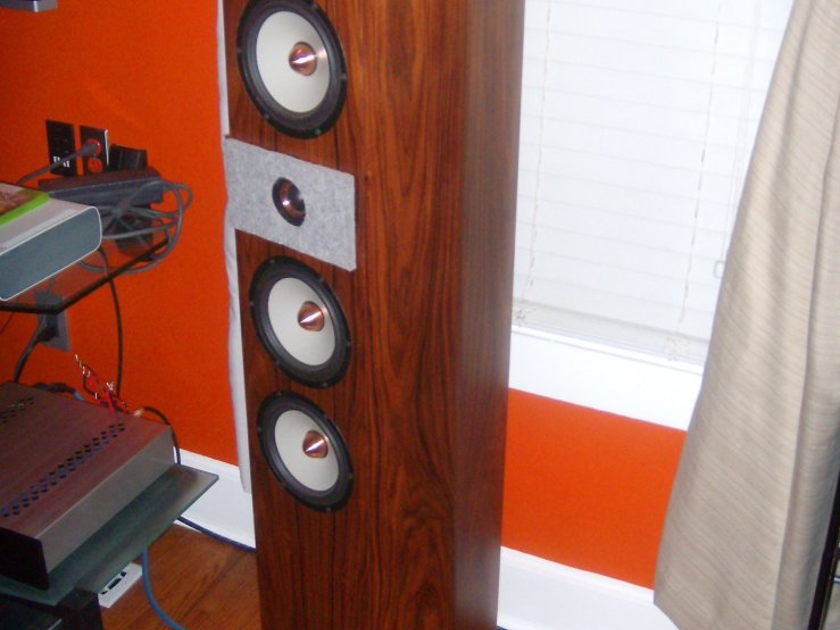 Tyler Acoustics Super Towers Heavily Modified