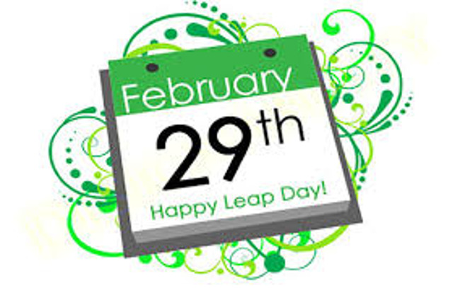 It's a Leap Year-Do Something Crazy for Leap Day Saturday February 29th