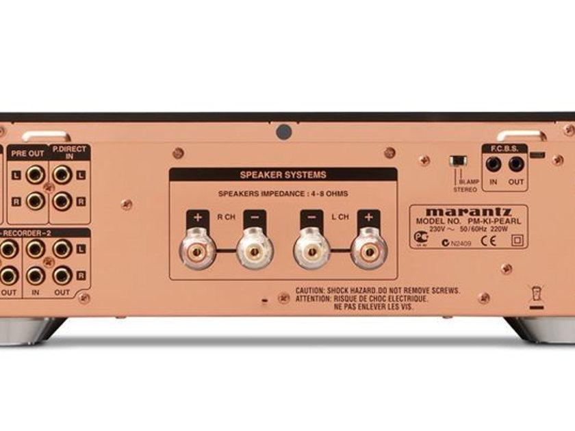 MARANTZ PM-K1-PEARL LIMITED EDITION AMPLIFIER