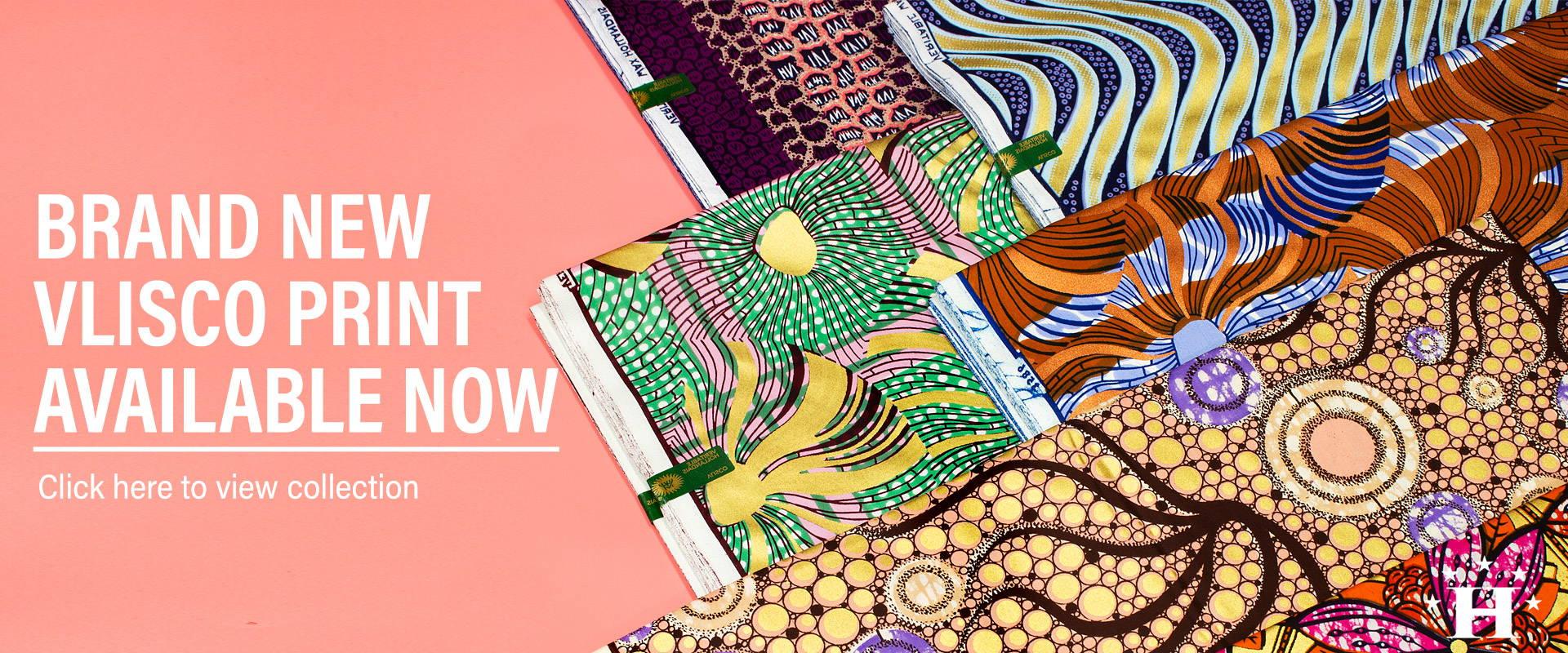 nagelneu vlisco Supergoldwachsdruck afrikanische Textilien
