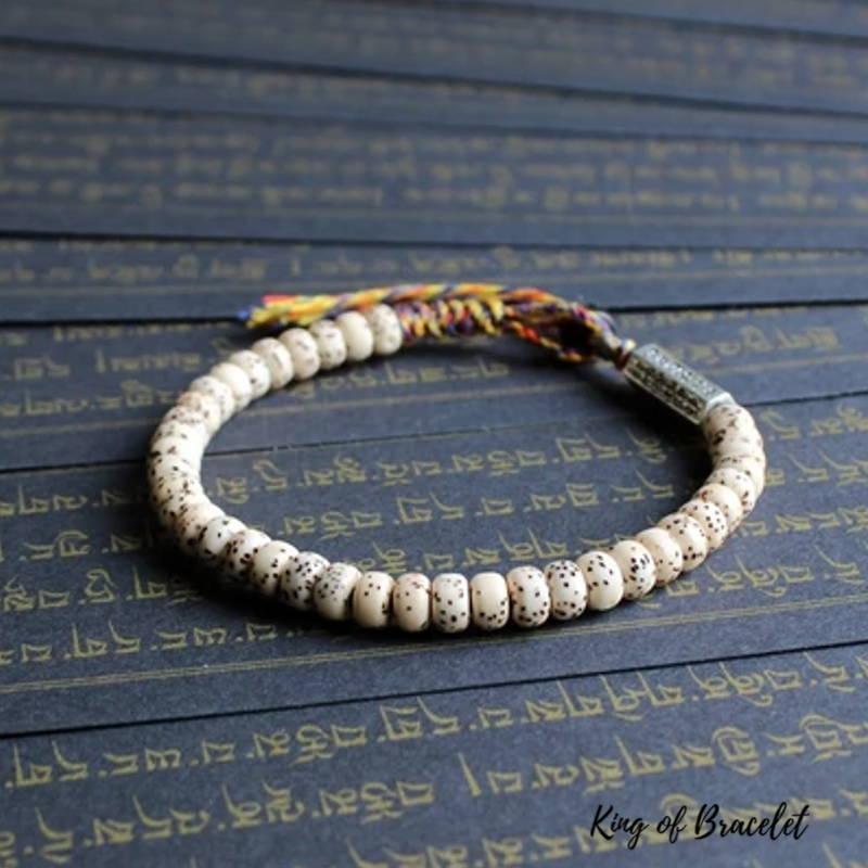 Bracelet en Perles de Graine de Boddhi - King of Bracelet