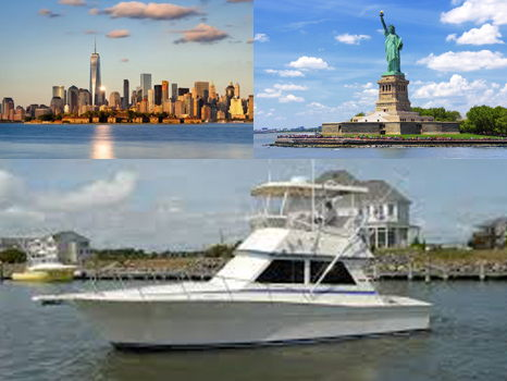 A Private Boat New York Harbor Tour for Six