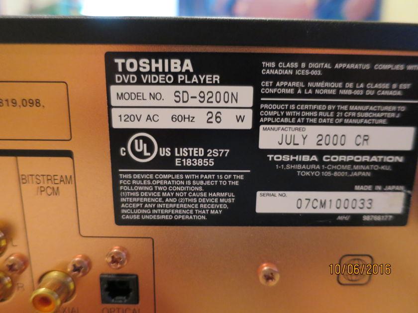 Toshiba SD9200N Lampizator mod