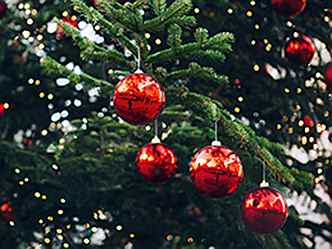 Hamburg - Decorated Christmastree