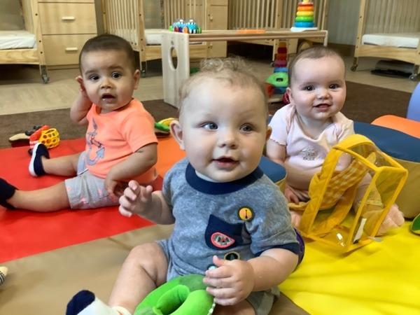 photo of three babies