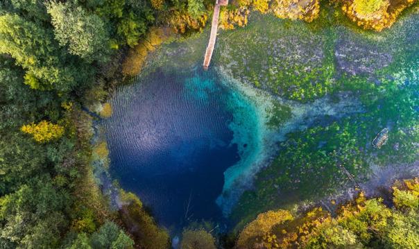 Голубые озера - природное чудо близ Казани