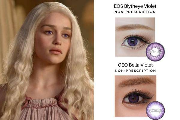 Daenerys Targaryen's Purple Eyes