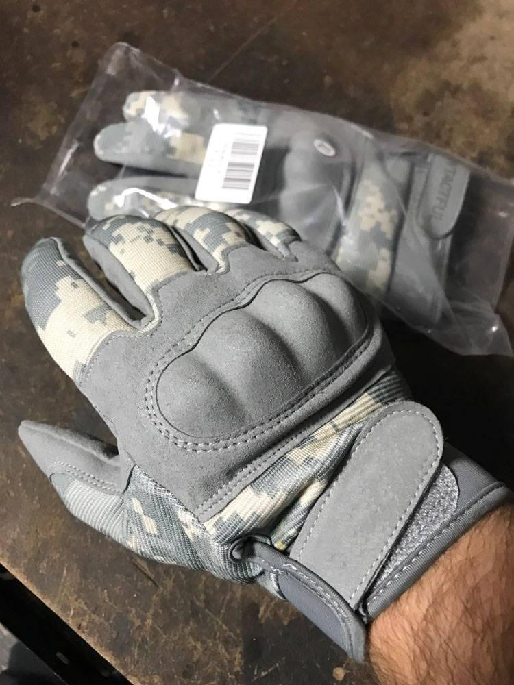 gants trottinette vitesse camouflage renforcé