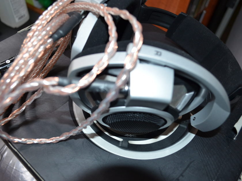 SENNHEISER HD800 with ALO Reference 16 upgrade cable!
