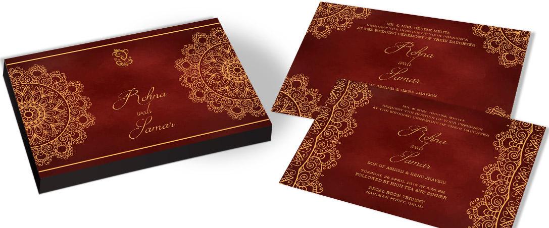 Casual Wedding Invitation