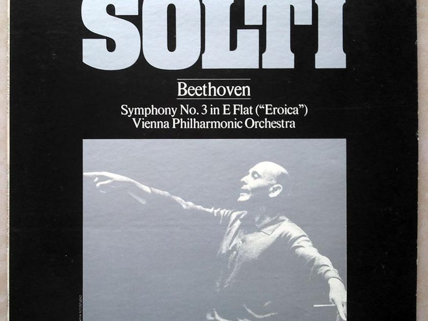 "London ffrr   SOLTI/BEETHOVEN - Symphony No. 3 ""Eroica"" / NM"
