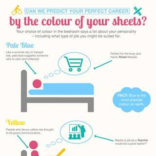 What is your career by the colour of your sheets