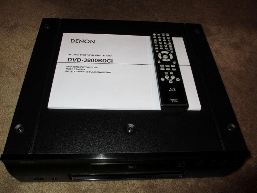 Denon 3800-BDCI - one owner
