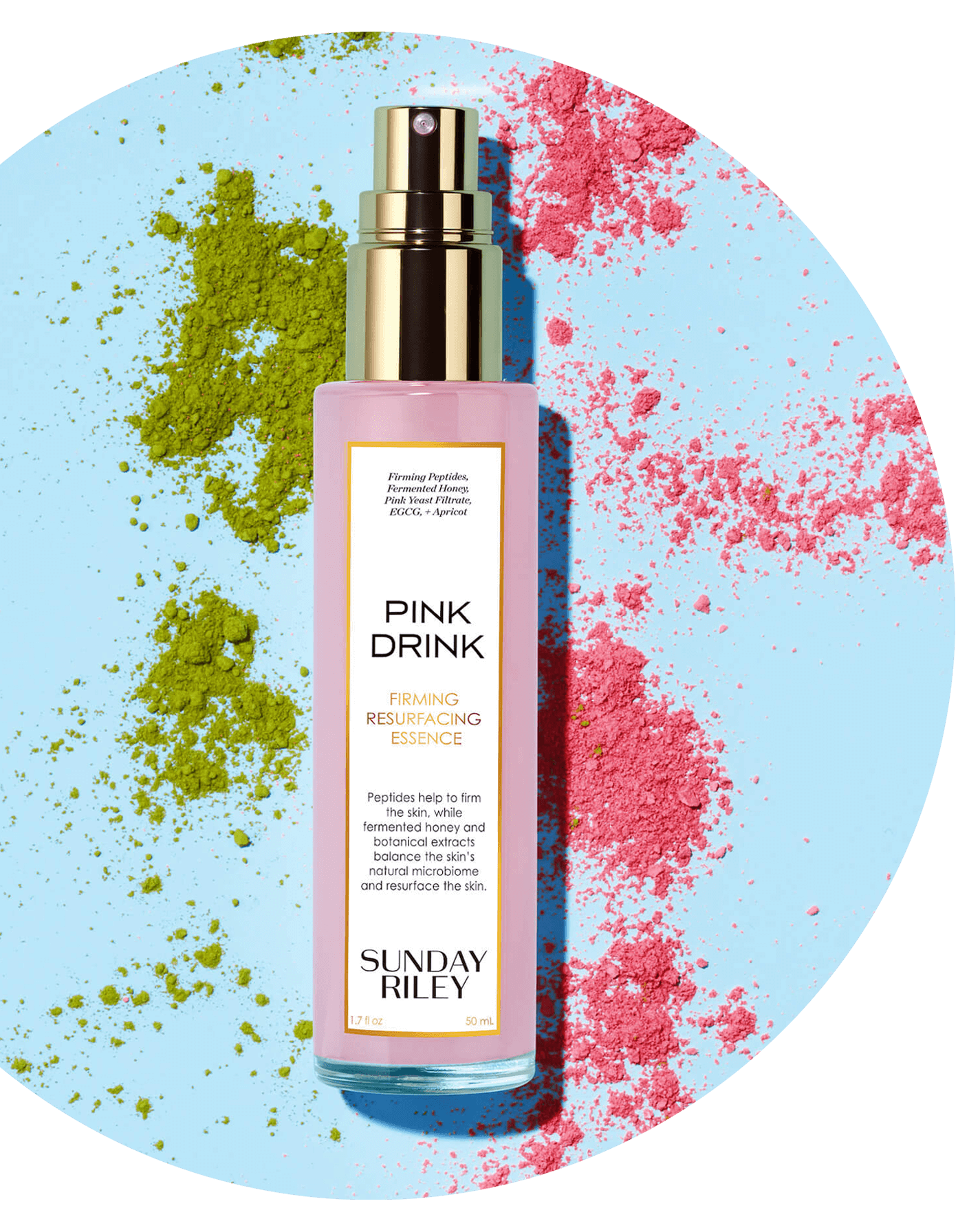 Hit Refresh on Summer Skin with pink drink!