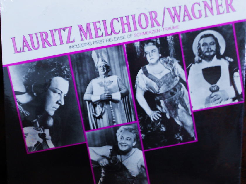 FACTORY SEALED ~ LAURITZ MELCHIOR~WAGNER ~  - INCLUDES 1ST RELEASE OF SCHMERZEN-TRAUME ~  RCA VIC 1500 (1970)
