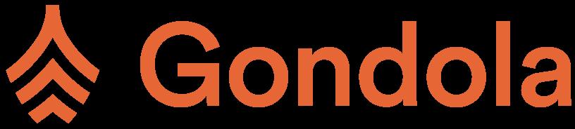 Gondola full logo horizontal orange cropped