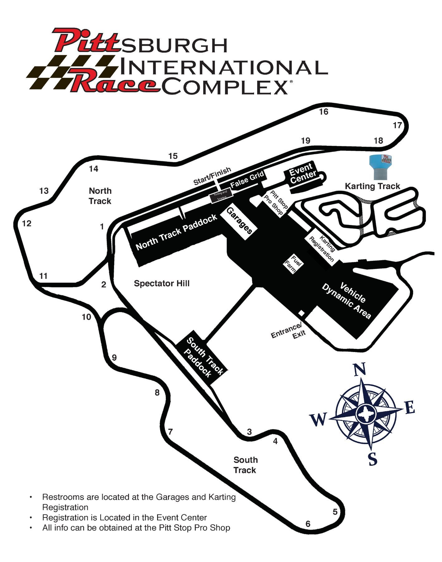 New Jersey Motorsports Track