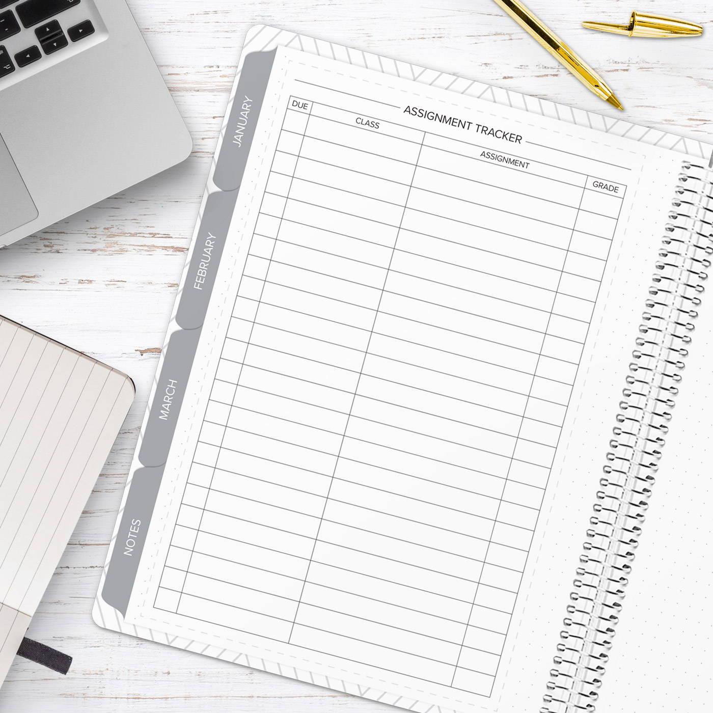 amplify planner assignment  tracker insert