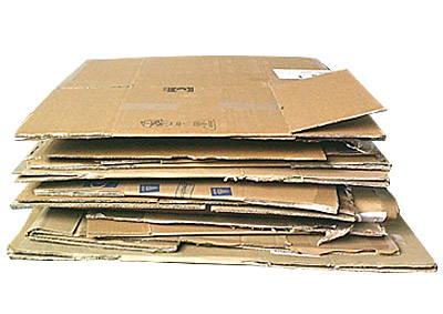 Waste cardboard recycle machine