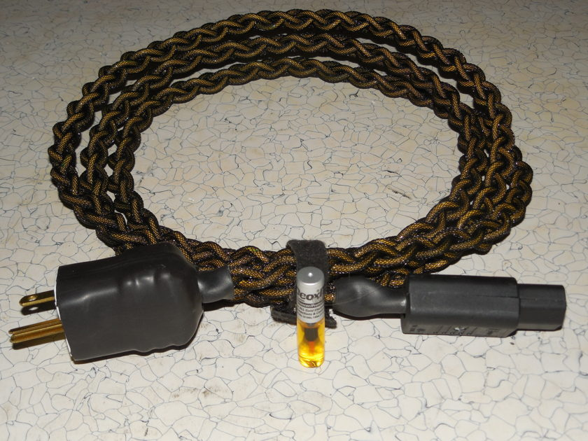 Devialet Upgrade power cords, Low profile BLACK SHADOW 2 Meter