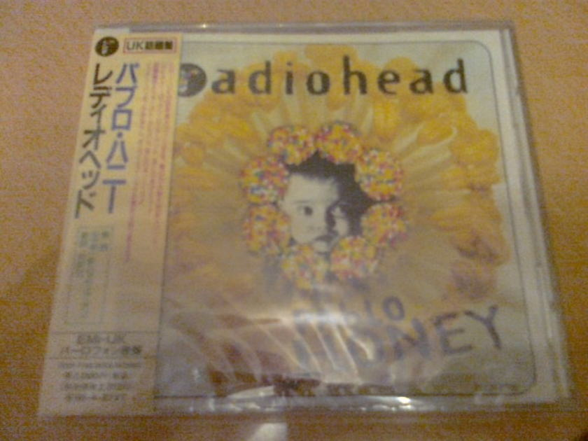 Radiohead -  - PABLO HONEY (Japan $3000Yen 1st edition, promo sample, new)