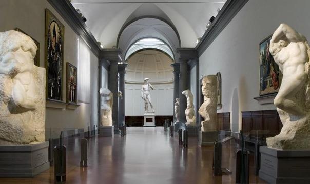 Микеланджело Буонарроти в Галерее искусств Академии
