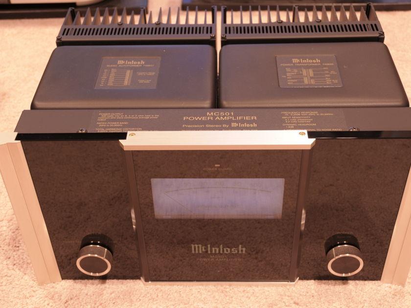 McIntosh MC501 single monoblock amp