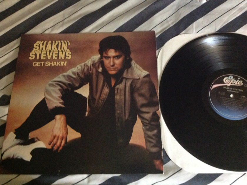 Shankin Stevens - Get Shakin' LP NM CX Encoded