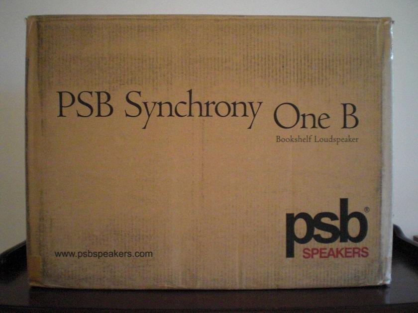 PSB Synchrony One B Bookshelf Speakers (Dark Cherry) - Free shipping!