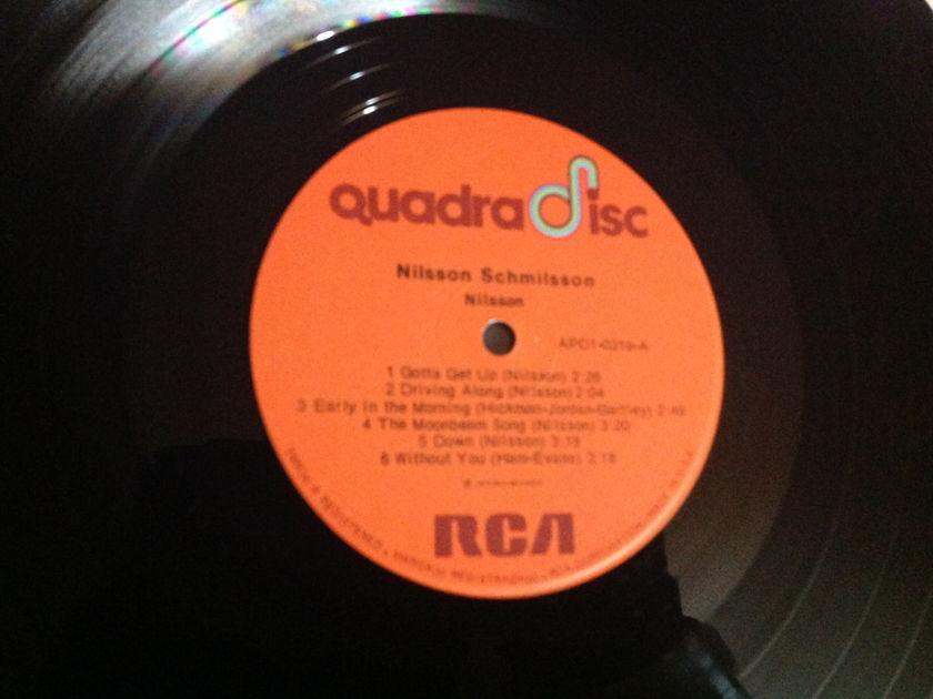 Harry Nilsson - Nilsson Schmilsson CD-4 Quadradisc LP NM