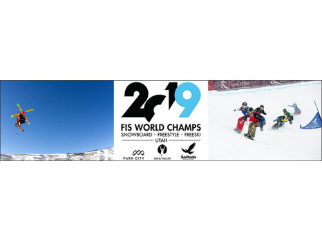 VIP for Four at the 2019 FIS Snowboard Freestyle Freeski World Championships in Park City, Utah