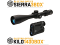 Sig Sauer BDX Scope 3.5X10x42 With Kilo 1400BDX Range Finder