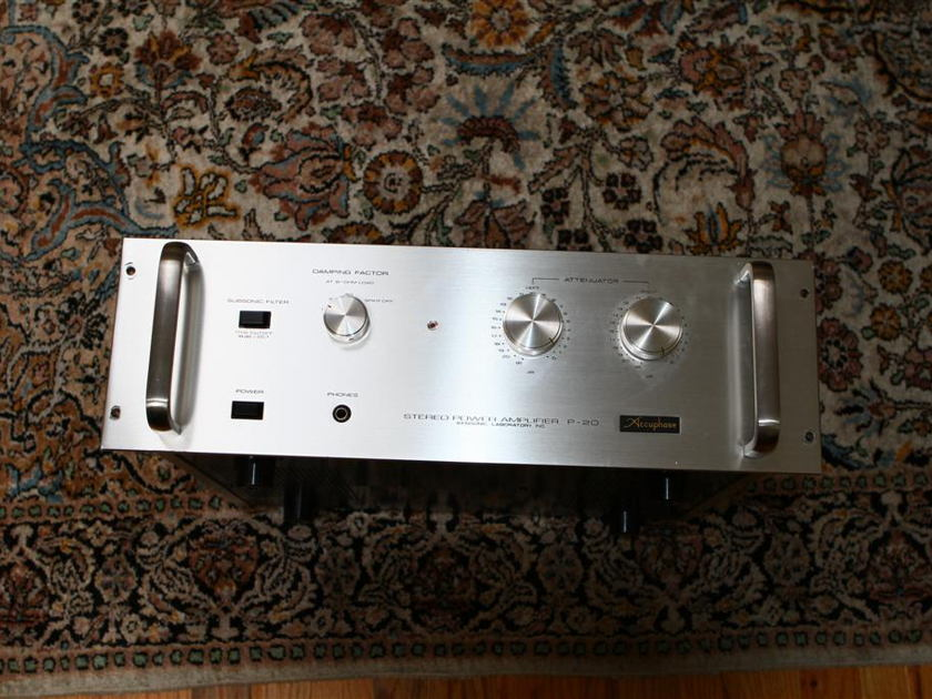Accuphase P-20 Rare amp