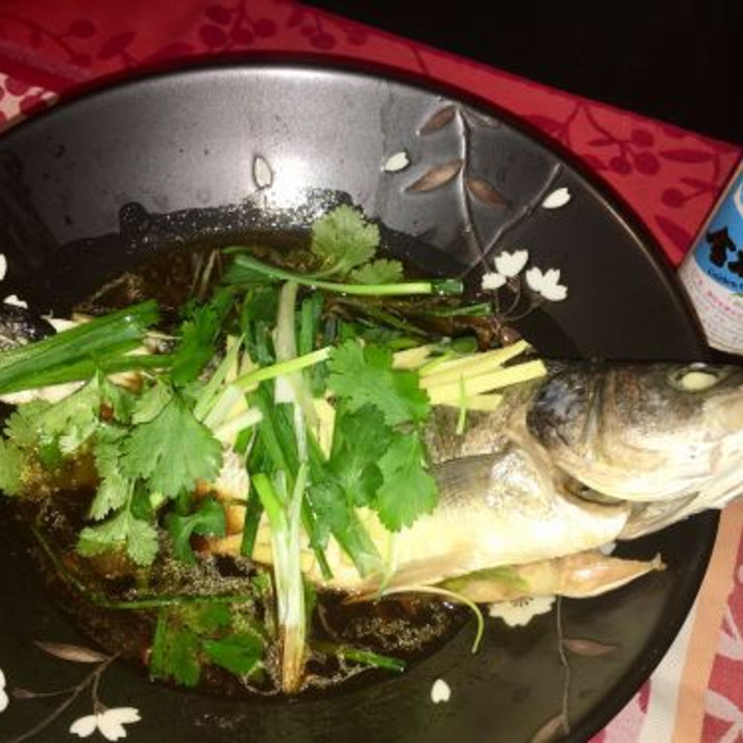 Teochew Steamed Fish - eaten with Kumquat Oil