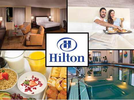 Suite at the Minneapolis Hilton