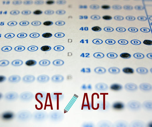Picture for SAT or ACT Now for Fall Deadline