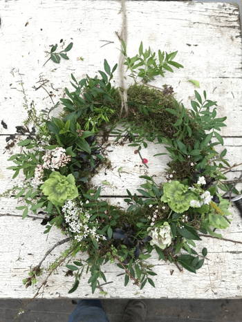 A Beautiful Completed Wreath