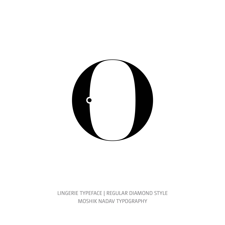Lingerie Typeface Regular Diamond o
