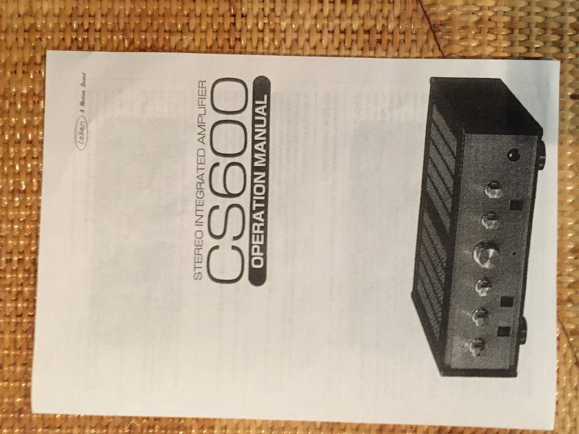 Leben Hi-Fi Stereo Co. CS-600 Tube Amplifier