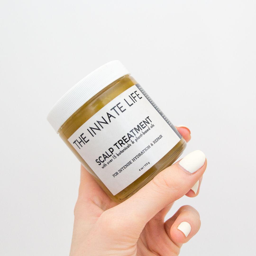 all natural organic scalp treatment for hair growth