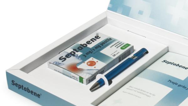 Gift packaging Septabene