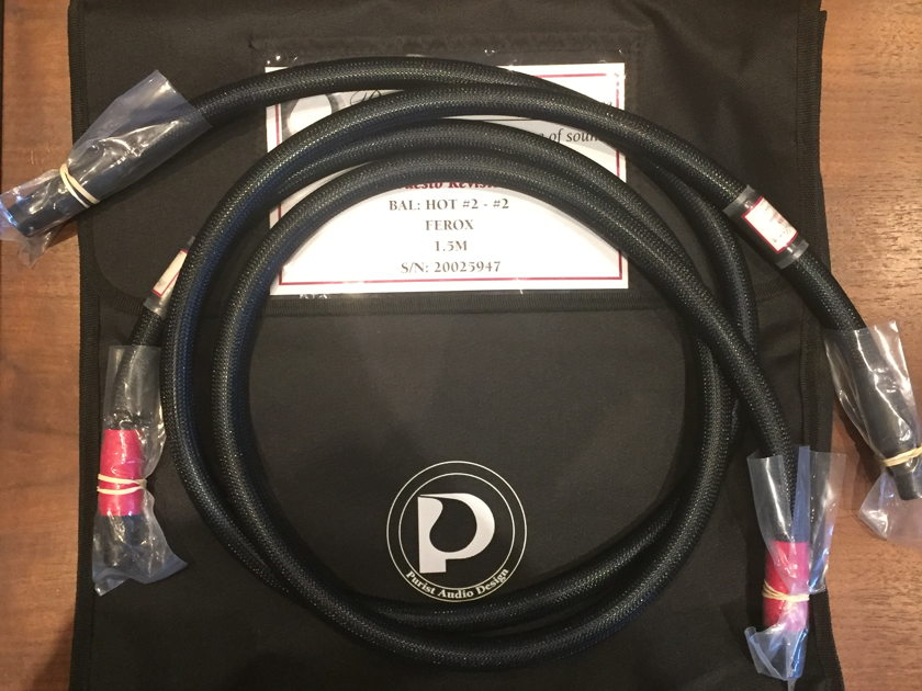 Purist Audio Design Venustas Praesto Revision XLR 1.5m