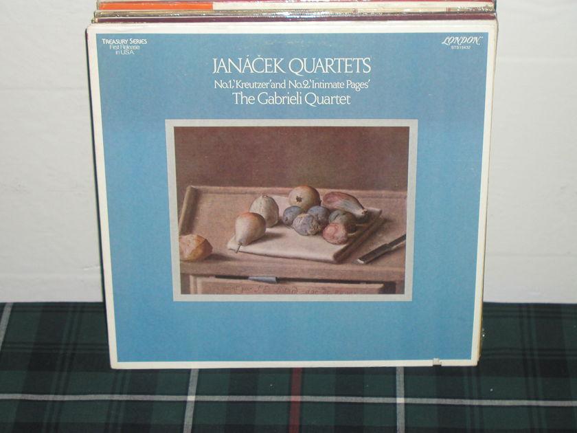 Gabrieli Quartet - Janacek Quartets London STS 15432 (thick)