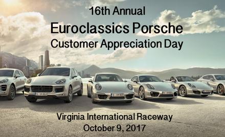 Euroclassics Porsche Driver Education Event